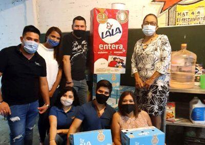 Grupo de voluntariado lala